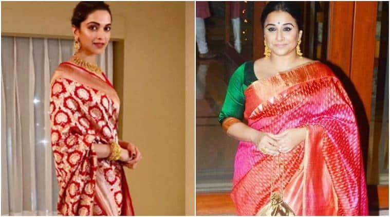winter fashion, silk sari, indian fabrics, Chanderi discharge prints, Kinkhab banarasi brocade, Modal silk, Tussar Silk with foil print, Paper silk, indian express, indian express news