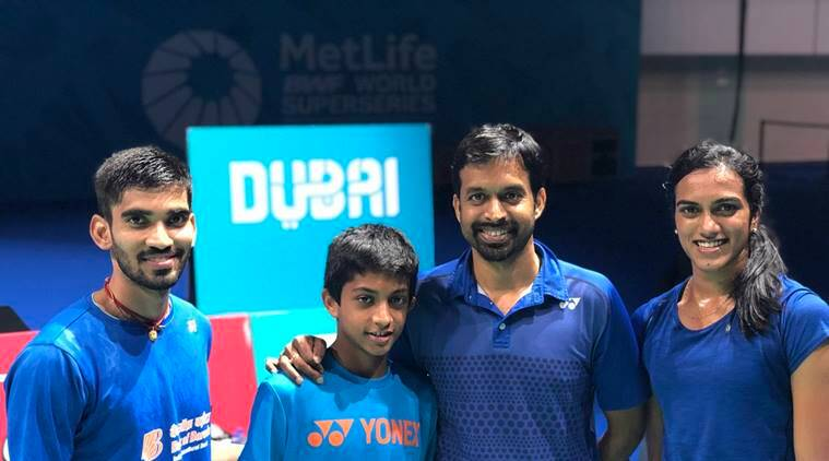 Kidambi Srikanth and PV Sindhu are in the men's and women's draws of the BWF World Super Series Finals