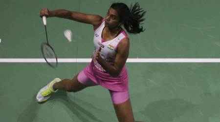 BWF Super Series Finals: PV Sindhu and Akane Yamaguchi shadow box on court
