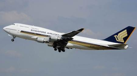 Singapore Airlines crew member held with gold: Customs