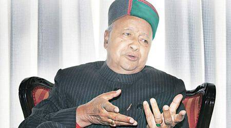 Himachal polls, Himachal elections, Himachal assembly elections, Virbhadra Singh, Himachal CM Virbhadra Singh, India News, Indian Express, Indian Express News