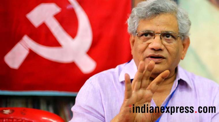 Sitaram Yechury, Tripura Assembly Elections 2018, Tripura elections, cpm, Sitaram yechury on kathua rape, indian express