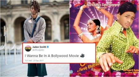 Jaden Smith wants to work in Bollywood movies; Twitterati give him ateaser