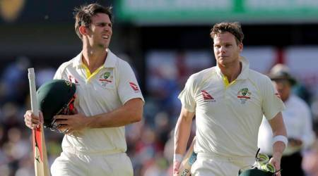 Ashes 2017: Steve Smith, Mitchell Marsh put Australia in ascendancy at WACA