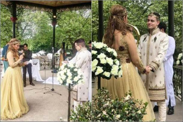 Sofia Hayat weds Vlad Stanescu