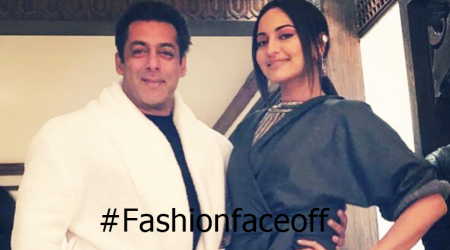 Sonakshi Sinha's outfit looks like a stylish bathrobe; Salman Khan thinks so too!