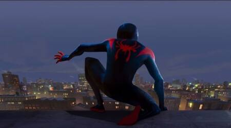 spider man into the spider verse trailer