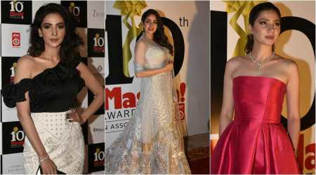 Sridevi, Mahira Khan and Saba Qamar win big at awards show in Dubai