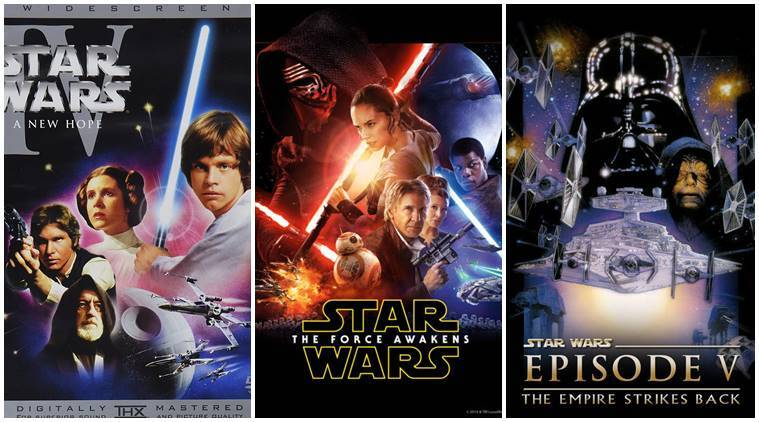 All Star Wars Movies Ranked From A New Hope To The Force Awakens Entertainment News The Indian Express
