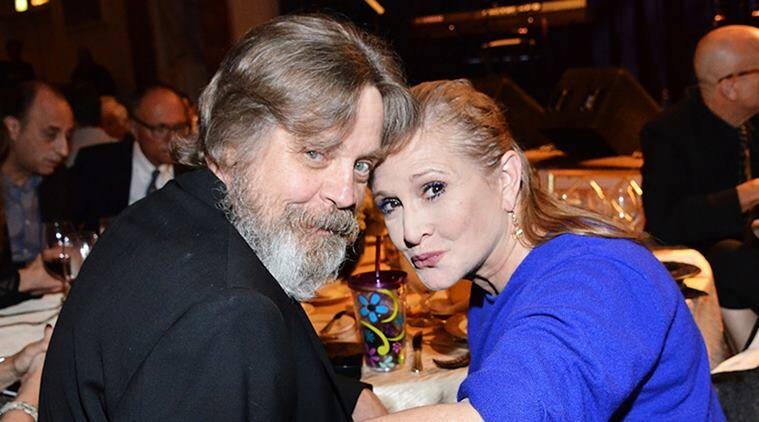 star wars the last jedi mark hamill carrie fisher
