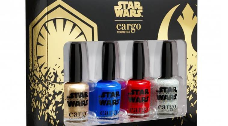 Star Wars Episode VIII: The Last Jedi, Cargo Cosmetics, Cargo X Star Wars, Cargo X Star Wars nail polish kit, Restore the Republic, Star Wars nail polish kit, Star Wars news, Star Wars latest updates, Star Wars movie, Star Wars, indian express, indian express news