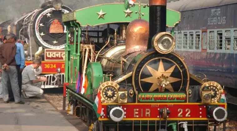 Indian Railway, heritage conservation, Steam engines, Steam engines trains in india, fairy queen, indian express
