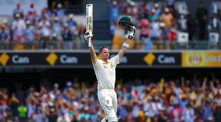 Steve Smith scored an unbeaten century in the first Ashes Test