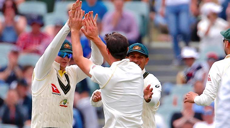 Australia defeated England in the second Test at Adelaide to take 2-0 lead in the series.
