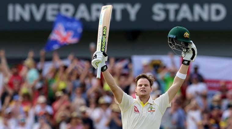 Steve Smith scored a double century against England at Perth