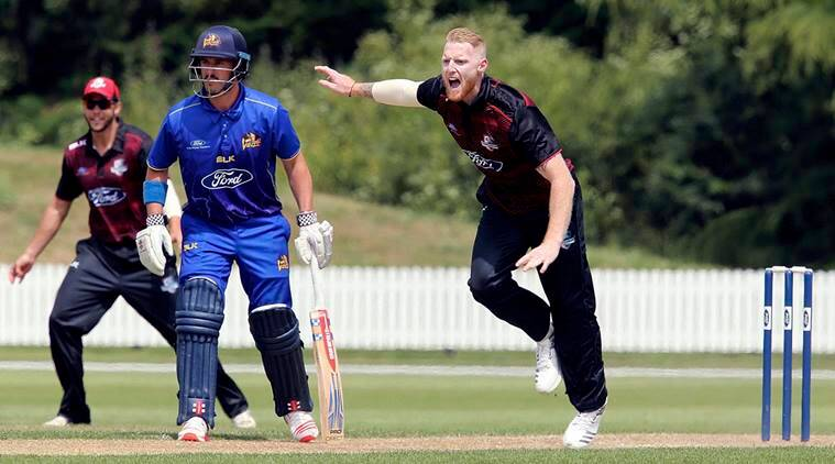 Ben Stokes in action for Canterbury in New Zealand's domestic cricket