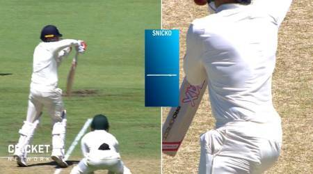 Ashes 2017: Mark Stoneman's dismissal sparks DRS controversy on Day 1 at Perth, watchvideo