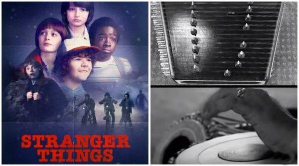 stranger things, stranger things netflix, stranger things cover, stranger things tune, stranger things on santoor table, stranger things youtube, indian express, indian express news