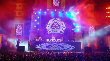sunburn music fest,