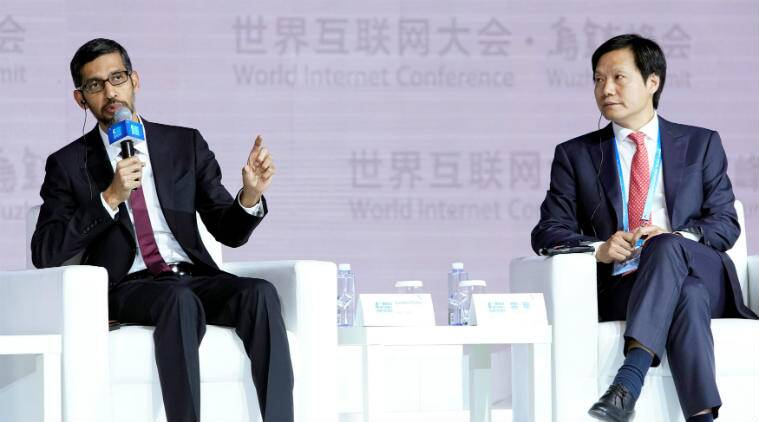 China's World Internet Conference 2017, Tim Cook, Sundar Pichai, Apple, Google, Xi Jinping, AI technology, data privacy, data security, Huawei, Cisco, Baidu, cyber security, Politburo Standing Committee, Google TensorFlow, cyber attacks