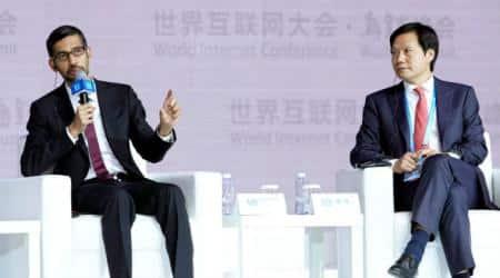Google CEO Sundar Pichai, World Internet Conference, Chinese President Xi Jinping, Apple's Tim Cook, Chinese cyberspace, Google apps, Apple's App Store, Chinese surveillance