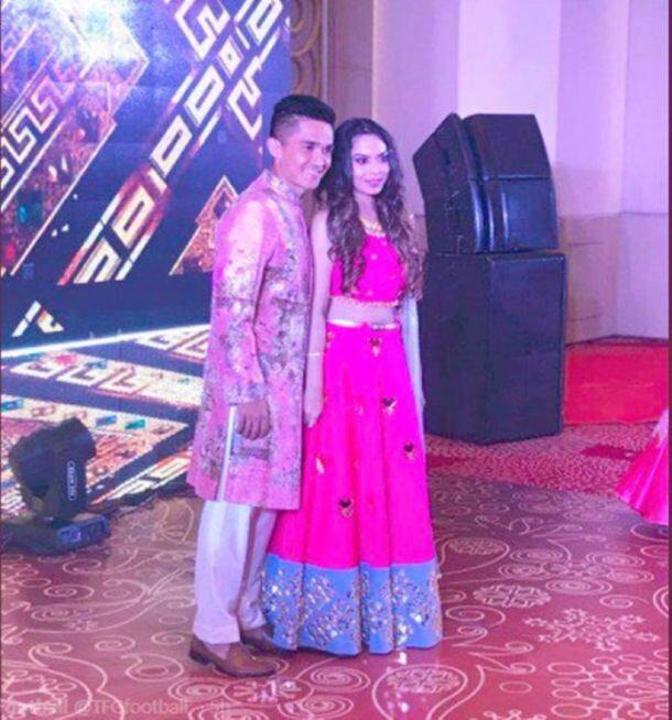 Sunil Chhetri get married to long-time girlfriend Sonam Bhattacharya