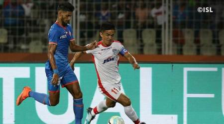 ISL 2017: Sunil Chhetri and Bengaluru FC seeking a win against NorthEast FC