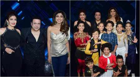 raveena tandon govinda shilpa shetty super dancer 2