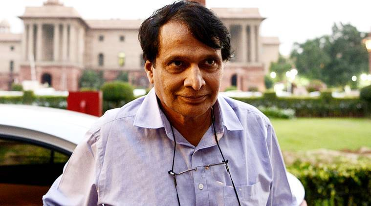 Suresh Prabhu, export incentives, commerce ministry, commerce industry minister, india export industry, indian express,
