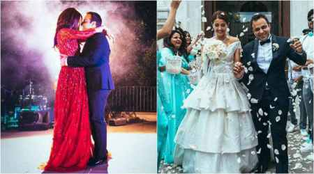 Actor Surveen Chawla opens up about her Italian wedding which had Punjabi Bollywood songs too