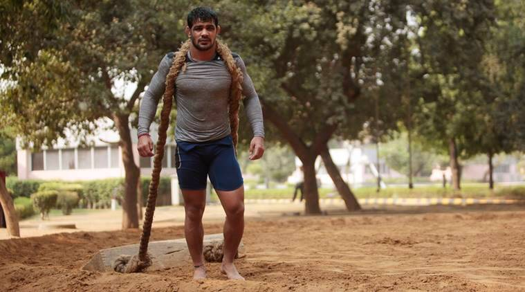 sushil kumar, sushil kumar wrestling, commonwealth games 2018, commonwealth games website, Wrestling Federation of India, Indian Olympic Association, wrestling news, indian express