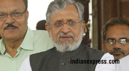 'Petrol products under GST if revenue collections at Rs 1 lakh crore,' says Sushil Modi