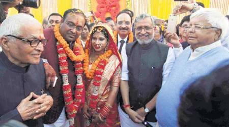 Lalu Yadav attends Sushil Modi son's wedding: 'Told Tejashwi not to mix politics, such events'