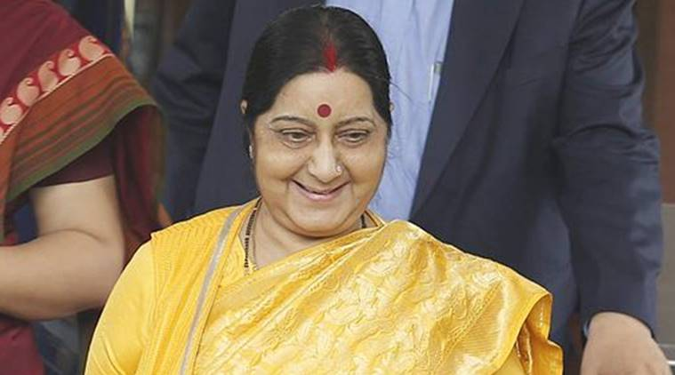 Indians in Nigerian custody, Indians in Nigerian custody Released, Nigerian custody, Nigeria, Sushma Swaraj, EAM Sushma Swaraj, India News, Indian Express, Indian Express News