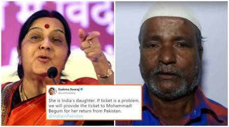 'She's India's daughter': Sushma Swaraj assures helps to Indian woman stranded in Pakistan