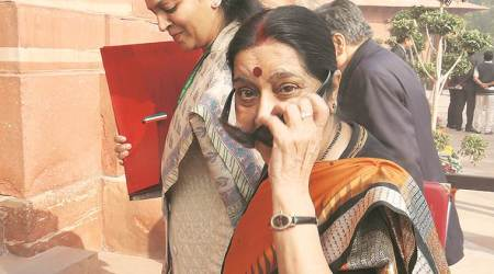 Terrorism more dangerous when actively backed by states, says Sushma Swaraj