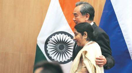 Sushma Swaraj, Wang Yi spoke on Doklam standoff: MEA