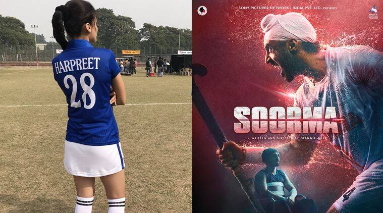 taapsee pannu and diljit dosanjh in soorma