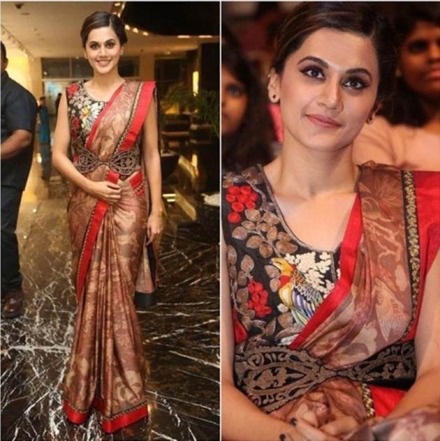 Taapsee Pannu, Bizarre outfits 2017, Fashion Misses 2017, Worst Outfits 2017