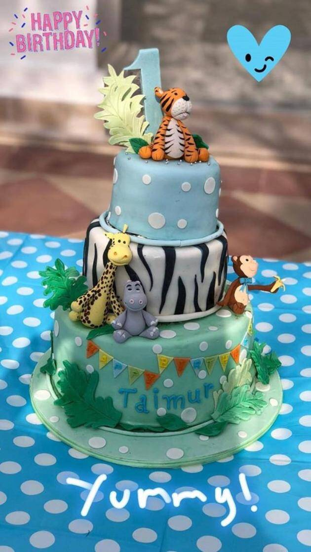 Taimur Ali Khan celebrates first birthday at Pataudi Palace