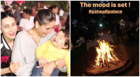 Taimur Ali Khan's birthday preparations have begun at the Pataudi Palace, see first photos