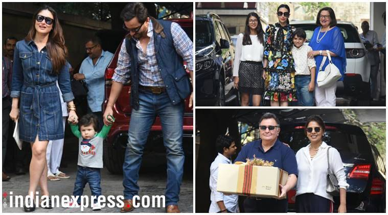 The star of the Kapoors Christmas lunch-Taimur Ali Khan