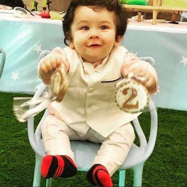 photos of taimur from his birthday party