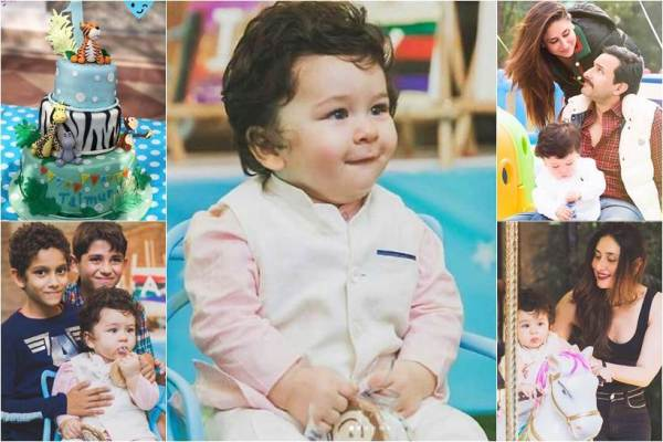 photos of taimur ali khan first birthday