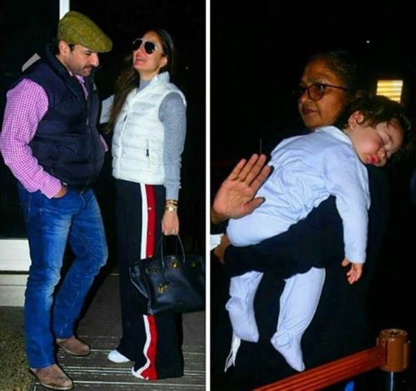 saif ali khan kareena kapoor and taimur in europe for new year