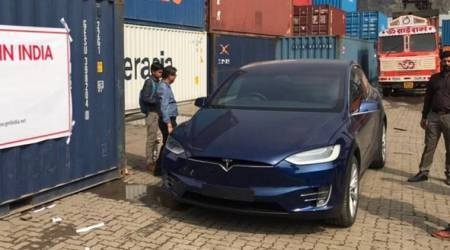 'First Tesla Model X SUV' arrives in India, electrifies social media