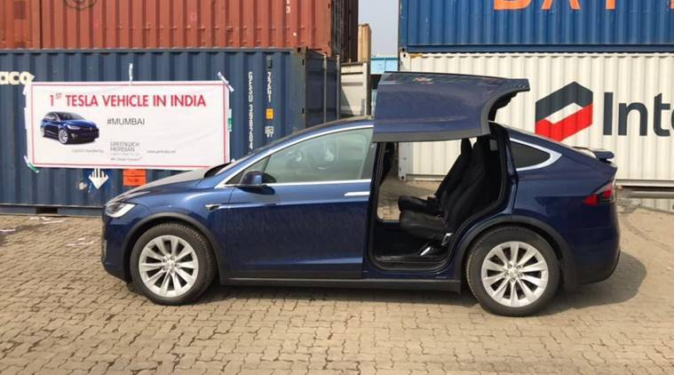 'First Tesla Model X SUV' arrives in India, electrifies ...