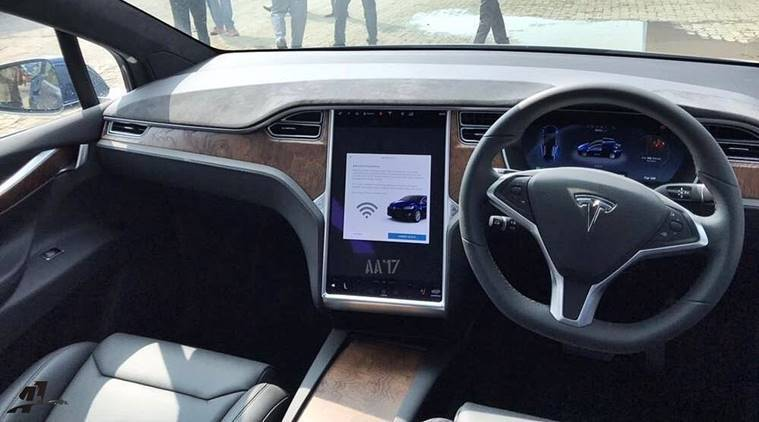 First Tesla Model X Suv Arrives In India Electrifies
