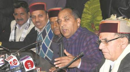 Jai Ram Thakur, Himachal chief-minister designate, HImachal assembly election results, HP Polls, inidan express, Himachal news