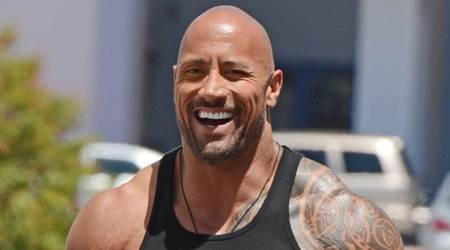 Jumanji 2 star Dwayne Johnson tried his hand at cricket. Here's what happened